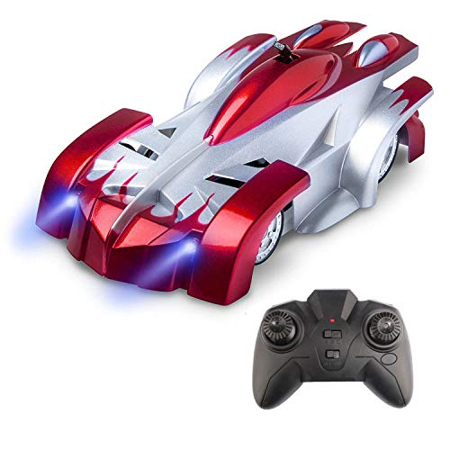 Zoostliss Gravity Defying Remote Control Car - RC Cars for Adults, Kids, Boys or Girls, Race Car Toys for Floor or Wall, USB for Rechargeable Fast RC Car
