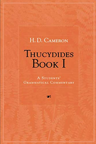 Thucydides Book I: A Students' Grammatical Commentary