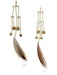 Danielle Nicole Birds of A Feather Drop Earrings