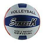 Bulk Buys Official Size and Weight Volleyball (Set of 3)