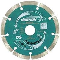 Makita d-61139Disco de diamante segmentados de 125mm, Multicolor