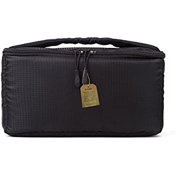 G-raphy Camera Insert Bag Storage Bag with Sleeve Camera Case (Black)