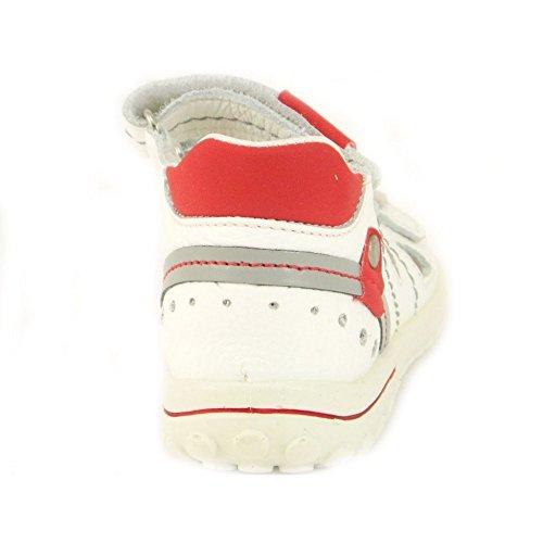 Primigi - Primigi kindersandalen Adrio Weiss Rot 49772 Weiß