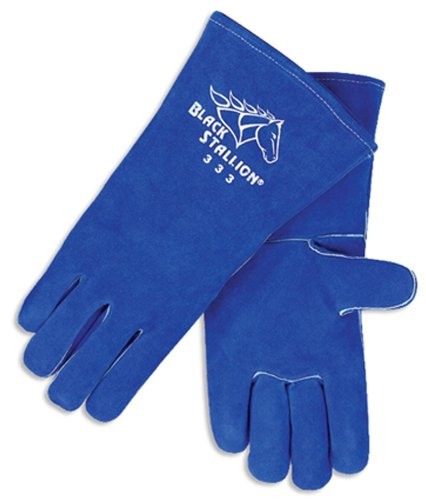 Revco CushionCore 333 Ladies Side Split Cowhide Stick Welding Gloves, X-Small
