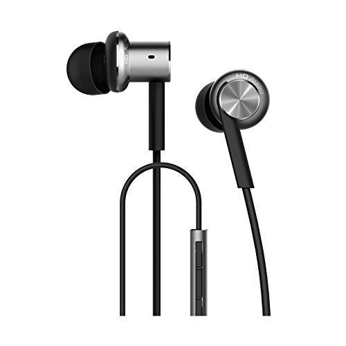 Xiaomi professional Store Hybrid Dual Mi Hybrid Earphone In-Ear Headphones Multi-Unit Circle Iron Mixed Piston Earphones, Silver