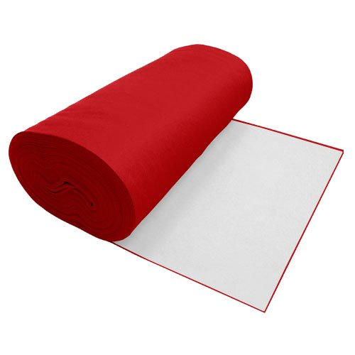 UPC 738726043345, Viscose Felt Apple Red 36 Inches Wide X 50 Yard Long