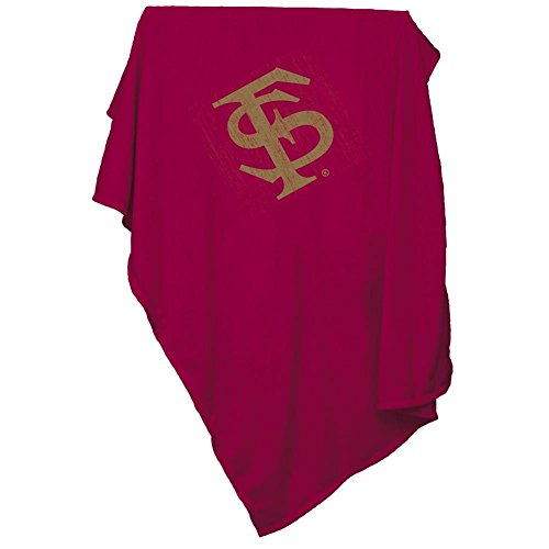 Logo Brands NCAA Florida State Sweatshirt Blanket, One Size, Multicolor -