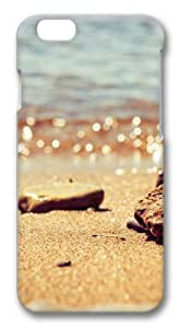 Beach pebbles Polycarbonate Hard Case Cover for iphone 6 plus 5.5 inch 3D