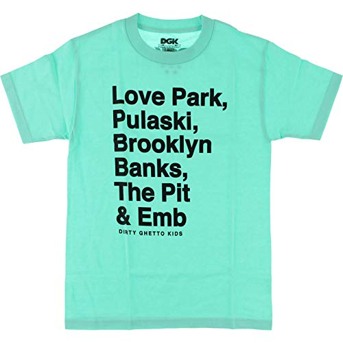 DGK Plazas T-Shirt [Small] Mint
