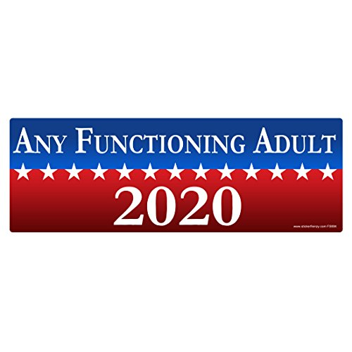 Fs684 Any Functioning Adult 2020 Sticker Laminated