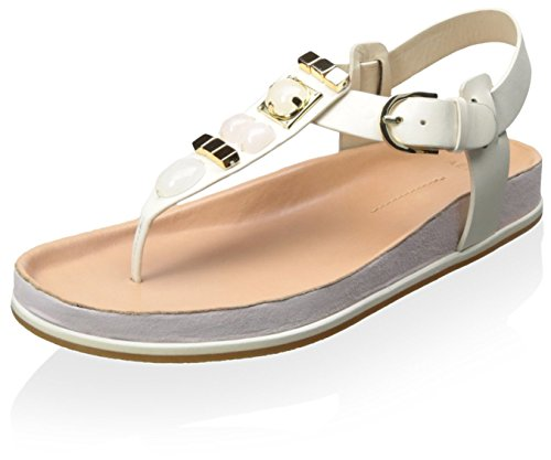 AERIN Women's Adelle Sandal Ivory/Petal X9nQ7w1ZM