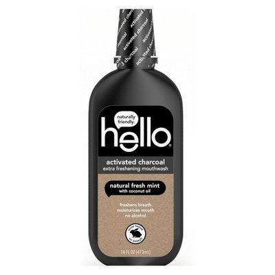 activated charcoal extra freshening mouthwash natural fresh