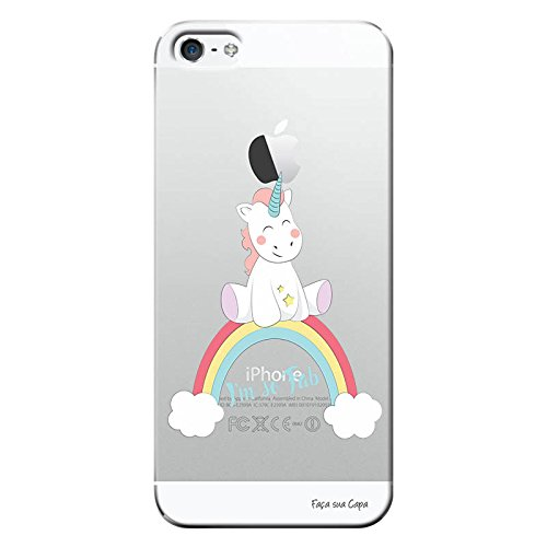 Capa Personalizada para Apple Iphone 5 5S SE Baby Unicórnio - TP312