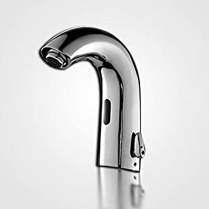 new GAOF Hot and cold control intelligent automatic faucet sensor wash Bowl