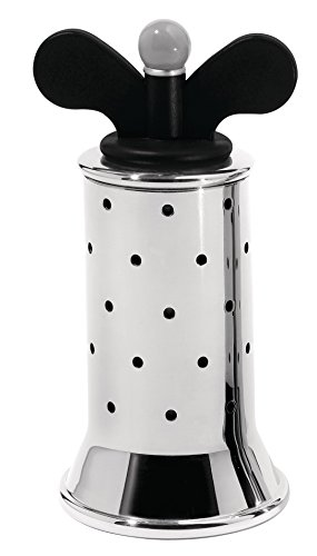 Alessi Pepper Mill Black Alessi Pepper Mill