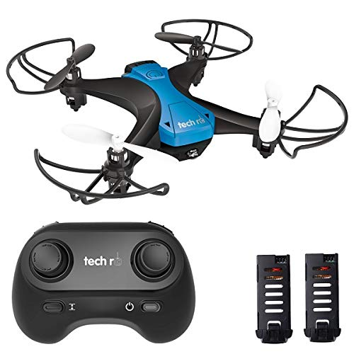 tech rc Mini Drone for Kids 20mins Long Flying Time Altitude Hold and Headless Mode, One-Key Flight 360° Flips RC…