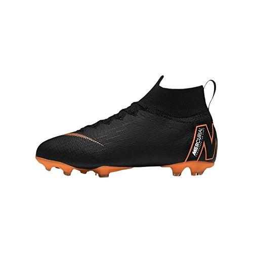 Nike Junior Mercurial Superfly 360 Elite FG Cleats [Black] (4Y) (Schwarz Elite 4)