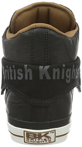 British Knights Herren ROCO High-Top Mehrfarbig (black/dk grey/cognac 03)