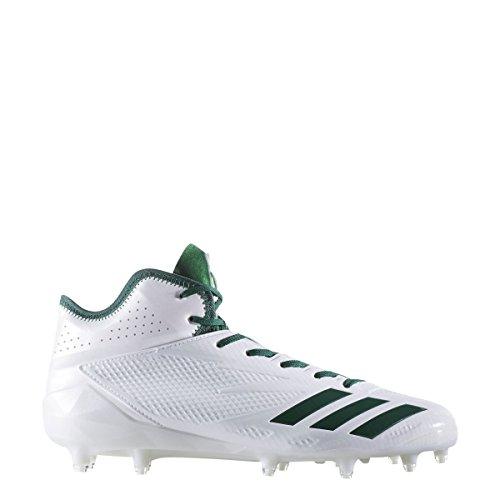 Adidas Adizero 5star 6.0 Mid Cleat Mens Football Bianco-verde Scuro