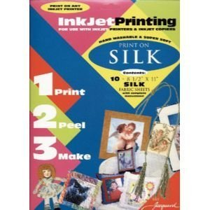 6 Pack SILK F/INKJET 8.5x11 SHEET 1O/PK Drafting, Engineering, Art (General Catalog) by Jacquard