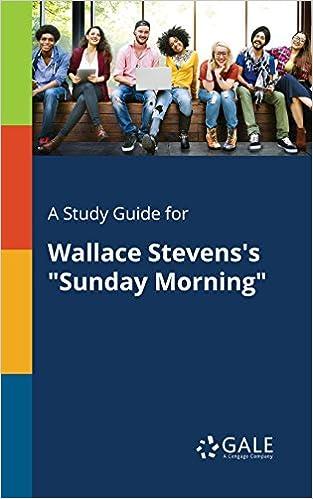 sunday morning wallace stevens