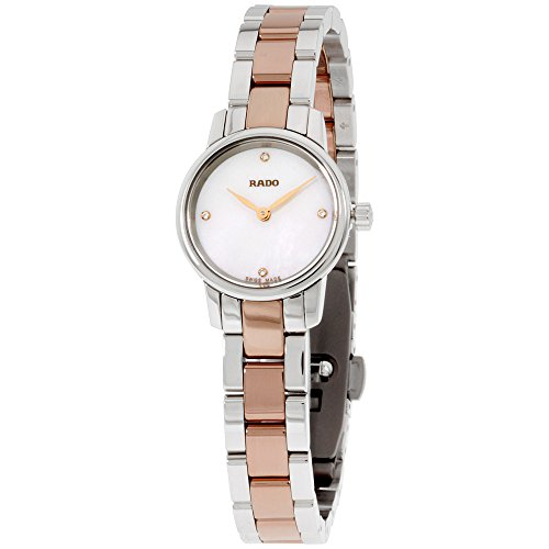 Rado Mop Dial Two Tone Stainless Steel Ladies Watch R22890942
