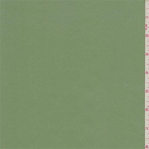 Green Stretch Twill - Kiwi Green Fine Line Stretch Twill, Fabric By the Yard