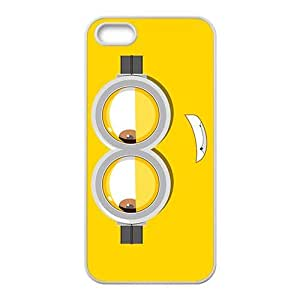 MMZ DIY PHONE CASELovely yellow classes doll Cell Phone Case for iPhone 5S