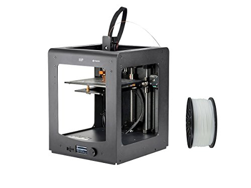 Monoprice Maker Select Ultimate 3D Printer with Premium 3D Printer Filament PLA 1.75MM 1kg, 1 Spool Bundle (White) by Monoprice