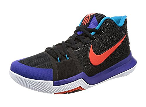 Nike Mens Kyrie 3, Zwart / Team Orange-concord, 13.5 M Us