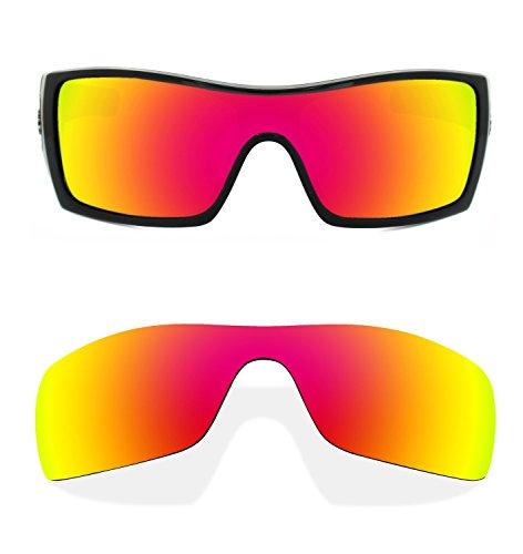 fc75e305c1 C.Q. Replacement Orange Polarized Lenses Compatible with Oakley Batwolf  Sunglasses