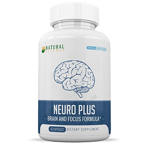 Premium Nootropic Brain Supplement for Increased Focus, Memory, & Brain Function by Natural Pathway - 60 Capsules by Natural Pathway