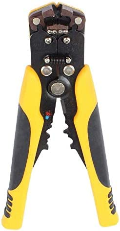 SSY-YU 8インチ自動ワイヤストリッパAWG 10-24を圧着ワイヤーストリップ、切断のための1つのマルチプライヤーでワイヤーストリッパー3、 ペンチ 切断工具