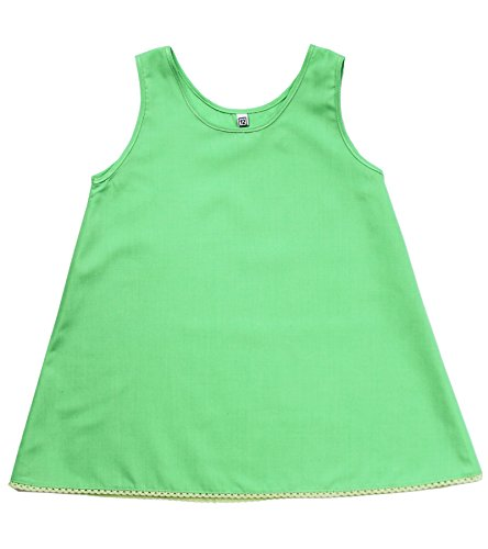 Baby and Toddler Girl Basic A Line Under Slip in Apple Green Color