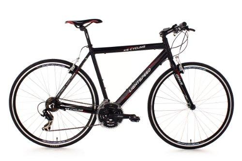 KS Cycling Fahrrad Fitnessbike Alu Lightspeed RH 60 cm, Schwarz, 28, 203B