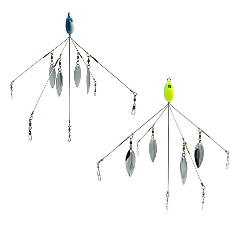 Sf 5 arms alabama umbrella rig fishing bass lures bait kit Umbrella rig fishing