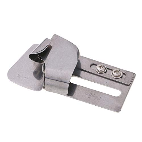 SM SunniMix Industrial Sewing Machine Lap Seam Folder (H MH XH) for Heavy/Medium/Light Materials - ()