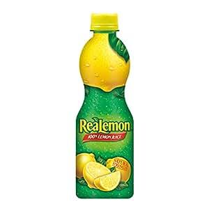 ReaLemon 100% Lemon Juice, 8 fl oz bottle