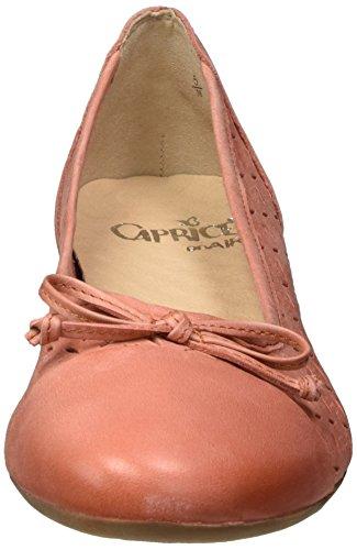Caprice Nubuc Arancione Donne Delle 22114 Ballerine arancione U0xSWTBHqw