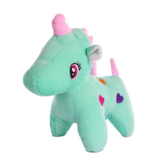 Deals India Light Green Unicorn Stuffed Soft Toy Gift for Kids- 25 cm, Light Green