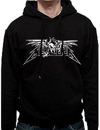 Metallica Winged Scary Zip Hoodie Sweatshirt