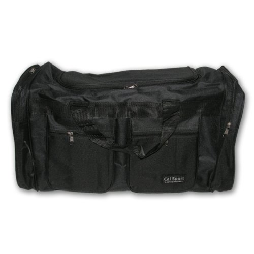 Isport UX7125A I&I Sports Player Gear Cargo Bag 22 In. Black by I & I Sports