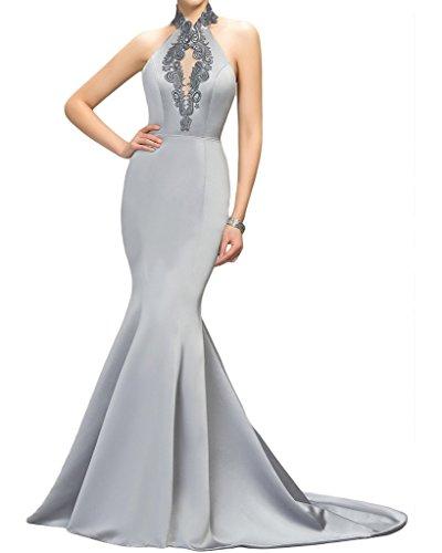 Missdressy - Vestido - Escotado por detrás - para mujer Sliber