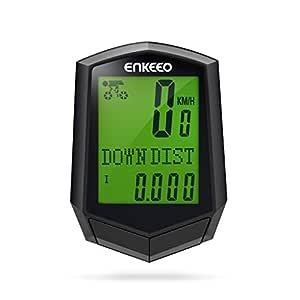 Enkeeo Preciso - Ciclocomputador con cadencia, cuentakilómetros ...