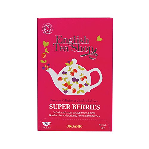 English Tea Shop Super Berries Organic, 20 Sachet Tea Bags