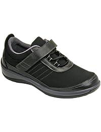 Breeze Comfort Stretchable Wide Orthopedic Diabetic Womens Walking Shoes