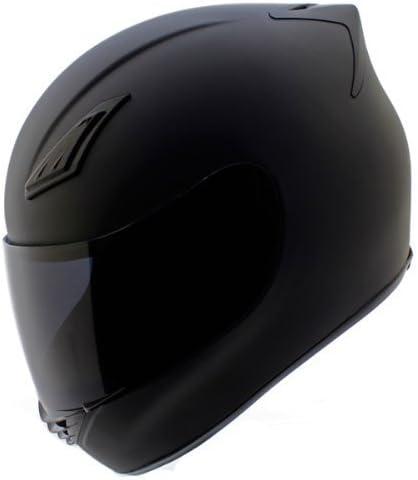 Amazon.com: Duke Cascos DK-120 Full Face Casco de moto mate ...