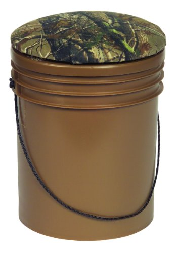 m Dove-Sport Bucket Hunting Seat with Insulated Cooler, Brown/Break-Up Camouflage ()