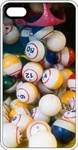 Lucky Bingo Balls White Plastic Case for Apple iPhone 6 Plus