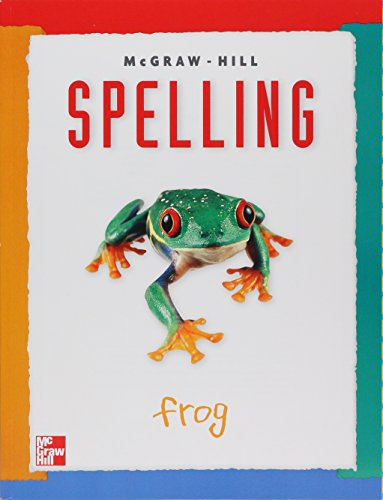 McGraw-Hill Spelling Level 1student book